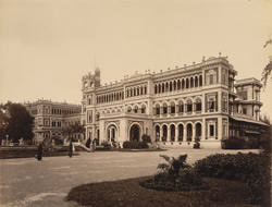 New Palace at Makarpura (west), SW view [Vadodara]